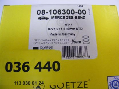 Picture of Piston ring set (1) M112/M113