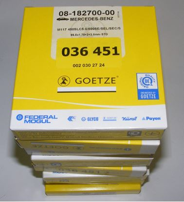 Picture of Piston ring set, 5.0/5.6 M117/M119 0020302724nd