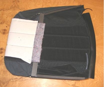 Picture of SEAT COVER, W123 77-85 1239100447