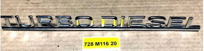 Picture of Mercedes turbodiesel sign 1168171915