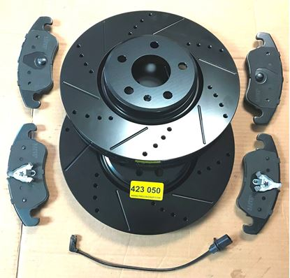 Picture of AUDI BRAKE SET,A4,S4,A5,S5,A6,S6,Q5 423 050-2