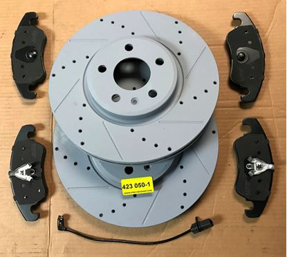 Picture of AUDI BRAKE SET,A4,S4,A5,S5,A6,S6,Q5 423 050-1